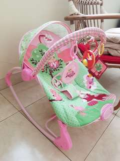 Sugar baby bouncer pink