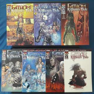 Fathom: Killian's Tide 7 Books