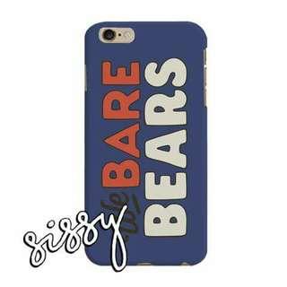 [WBBEARS8] WE BARE BEARS PHONE CASE