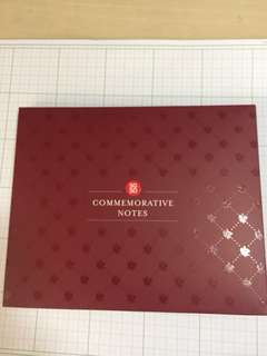 SG50 Commemorative Notes Folder