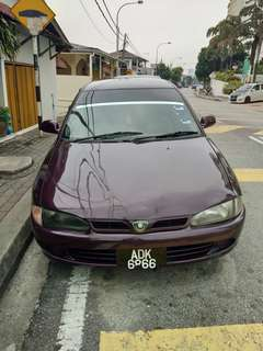 Proton Wira tiptop th 97