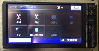 Import Japan DVD monitor BT Player Toyota Size