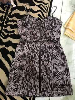"REPRICED!! ""Guess"" bustier bodycon/ bodyfit dress"