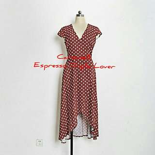 Pretty woman inspired polka dot dress
