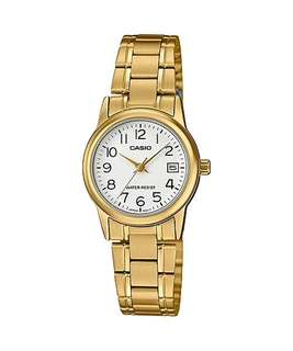 Bn Casio ladies Gold Tone Watch LTP-V002G-7B2