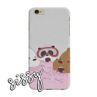 [WBBEARS10] WE BARE BEARS PHONE CASE