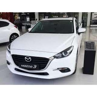 2 Units Left! 2017 Mazda 3 Available For Rent! Weekly As Low As $290 Only!