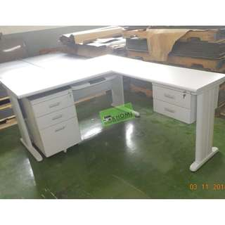 ET – OFFICE TABLE-101 L-TYPE EXECUTIVE TABLE