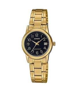 🚚 Bn Casio Gold Tone Ladies Dress Watch LTP-V002G-1B