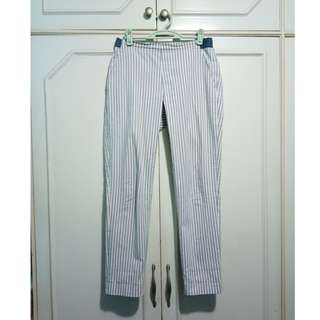 Uniqlo Striped Trousers