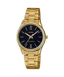 🚚 Bn Casio Gold Tone Ladies Dress Watch LTP-V005G-1B