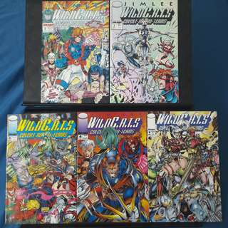WildCATS Covert Action Teams #1, #2, #3, #4 & #5