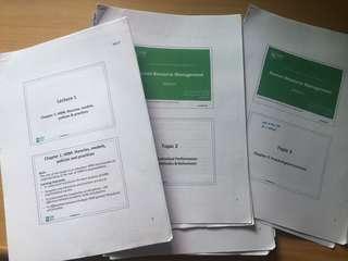 SIM UOL notes | Human Resource Management (HRM-UOL) - Praba's notes