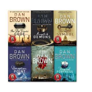 Ebooks by Dan Brown