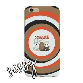 [WBBEARS16] WE BARE BEARS PHONE CASE