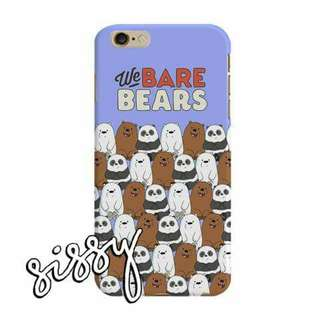 [WBBEARS17] WE BARE BEARS PHONE CASE