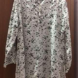 Floral blouse  #ramadan50