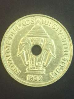 Laos 20 Cent year 1952, Vf