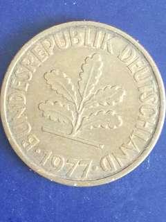 Germany 2 Pfenning year 1977, Vf