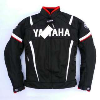 Yamaha Motorbike Ridng Jacket w Paddings Mesh / Oxford - REP LICA