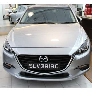 BRAND NEW MAZDA 3 1.5 A LONG TERM RENTAL @ $1600 SPECIAL RATES FOR CORPORATE AND INDIVIDUAL  LEASING