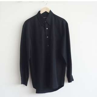 Kenneth Cole Black Shirt Long Sleeve