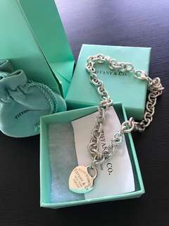 Tiffany and Co. 💕 tag necklace