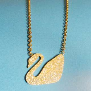 Swan necklace