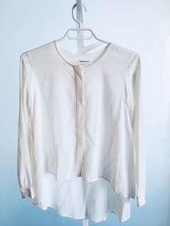Club Monaco - White Blouse - Size S