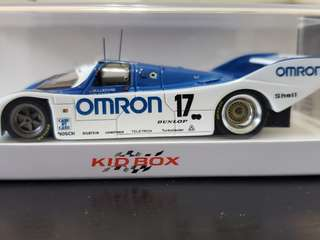 保時捷 Porsche 波子模型車 1/43 Omron 962C (962-008) NO.17 OMRON WEC 1000KM FUJI 1988 SPARK Model Car