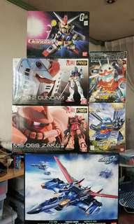 Gundam PG RG SD Set