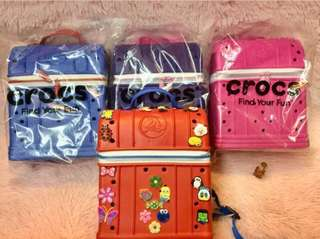 authentic crocs bag for kids with dust-bag