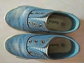 Denim kids shoes size 32