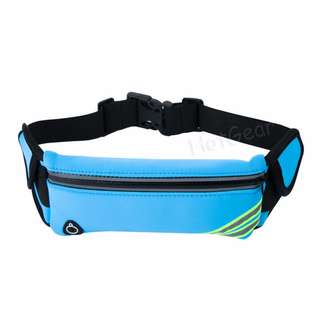 Running Belt ◇ Waterproof Waist Pack Fanny Pack Bag with Adjustable Water Bottles Pouch for Men Women Sports Fitness Cycling Hiking Climbing Gym Good for iPhone X 8 7 6 Plus Samsung Galaxy Xiaomi Oppo Oneplus Mi (Bottle not included)