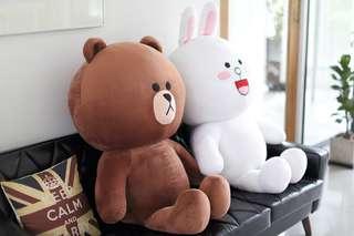 LINE FRIENDS BROWN plush toy