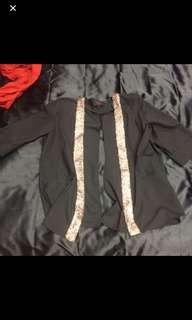 Back split blazer