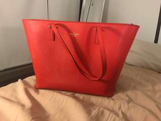 Kate spade handbag tote large