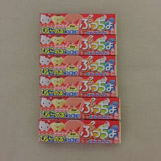 All 6 for $10 - BN sealed Puccho UHA candy (strawberry calpis flavor) made in Japan. Expire 30 June 2018