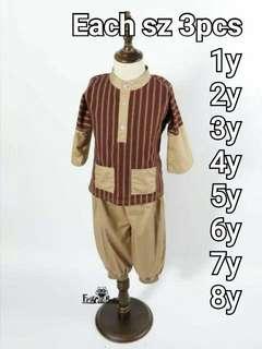 Baju Melayu Stripes