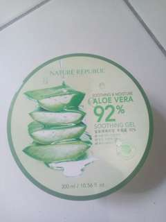 ALOE VERA 92% NATURE REPUBLIC SOOTHING GEL