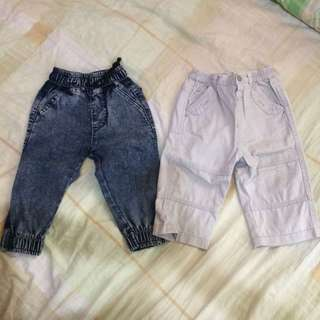 Pants for boys 12-24 months