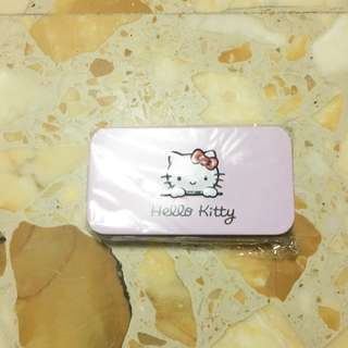 BNIB Hello kitty pink brush set