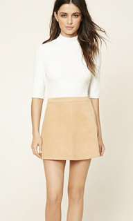FOREVER21 MINI CORDUROY SKIRT
