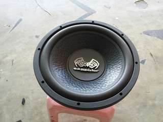 New 3pcs exspider Subwoofer clear stock