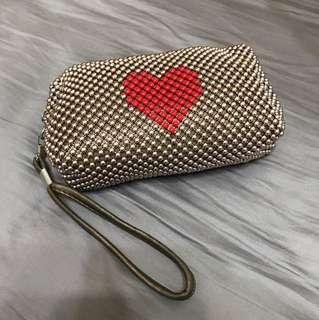 愛心 珠珠小包 #五十元好物