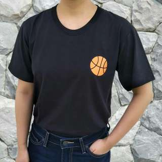 Basketball 100% Cotton Tee