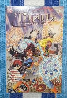 Titans: Scissors Paper Stone (Prestige Format)