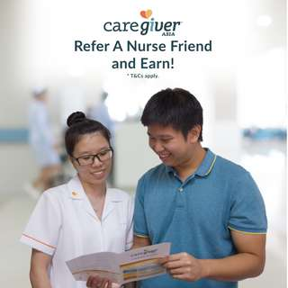 Refer A Nurse Friend and Get Paid