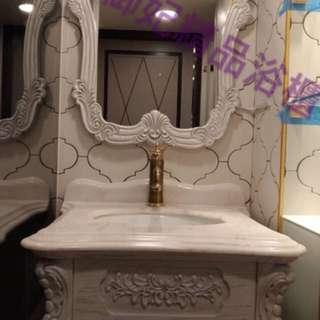 實木浴櫃 專業訂製