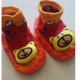 Selling this infant sock  good for 3-9 mos.